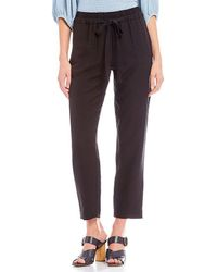 1.STATE - Flat Front Tapered Leg Pant - Lyst