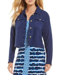 Tommy Bahama - Two Palms Crop Jacket - Lyst