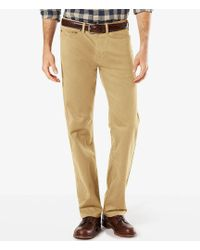 "Dockers - ""the Jean Cut"" Soft Stretch Straight-fit Pants - Lyst"