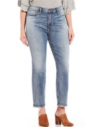 Silver Jeans Co. - Plus Size Frisco Tapered Jeans - Lyst