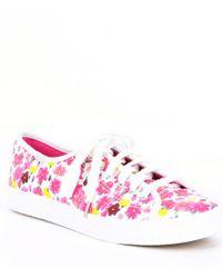 0f6f63796c55 Keds - X Kate Spade New York Kickstart Floral Print Sneakers - Lyst