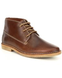 Kenneth Cole Reaction - Men's Uptown Leather Chukka Boot - Lyst