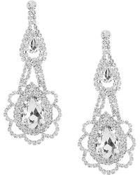 Cezanne - Floral Chandelier Statement Earrings - Lyst