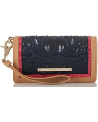 Brahmin - Avondale Collection Debra Wristlet - Lyst