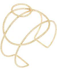 BCBGeneration - Winter Metals Geometric Cuff Bracelet - Lyst