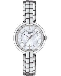 Tissot - T-lady Flamingo Mother-of-pearl Analog Bracelet Watch - Lyst