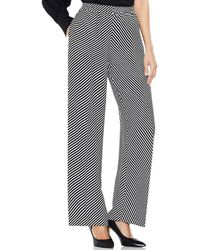 3dddbf2b10e Lyst - Vince Camuto Delicate Floral Wide Leg Pant in Blue