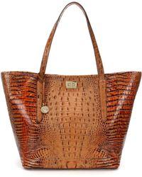 Brahmin - Toasted Almond Collection Annika Tote - Lyst