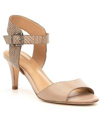 Antonio Melani - Madalene Snake Print Dress Sandals - Lyst