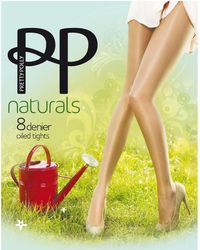 Pretty Polly - Oiled Naturals Sheen Pantyhose - Lyst