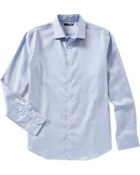 Murano - Slim-fit Brella Long-sleeve Woven Shirt - Lyst