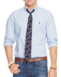 Polo Ralph Lauren - Checked Poplin Shirt - Lyst