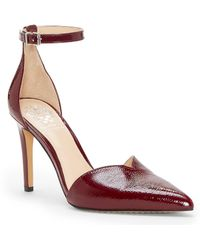 Vince Camuto - Maveena Sweetheart Patent Leather Pumps - Lyst