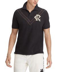 Polo Ralph Lauren - Collegiate Chevron Striped Short-sleeve Polo Shirt - Lyst