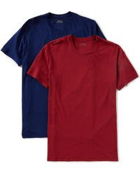 4fc1d68ff Polo Ralph Lauren Classic-Fit Jersey Pocket Crew-Neck T-Shirt in Red ...