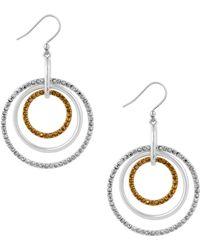 Lucky Brand - Orbital Earrings - Lyst