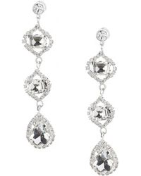 Cezanne - Venice Linear Earrings - Lyst