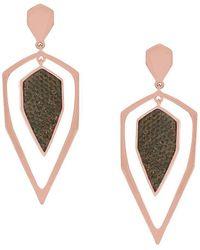 Jessica Simpson - Dagger Stone Earring - Lyst
