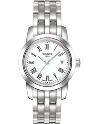 Tissot - T-classic Collection Classic Dream Analog & Date Bracelet Watch - Lyst