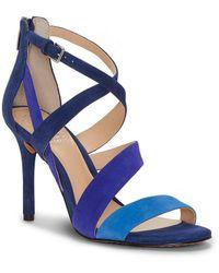 Chakeetan Suede Colorblock Strappy Dress Sandals e1OIysWsb7