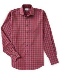 5d5606137e Men's Thomas Dean Shirts - Lyst