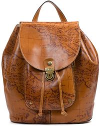 Patricia Nash - Signature Map Collection Casape Backpack - Lyst