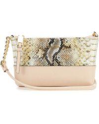 Calvin Klein - Hayden Snake Cross-body Colorblock Bag - Lyst
