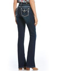 Miss Me - Heavy Stitch Curvy Fit Bootcut Jeans - Lyst
