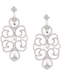 Cezanne Florentine Lace Statement Earrings
