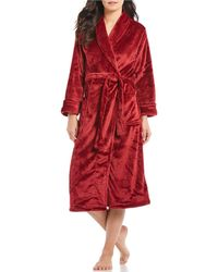 N By Natori - Cashmere Fleece Long Wrap Robe - Lyst