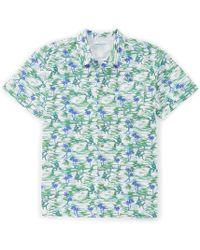 2c91affc045e Columbia Pfg Trollers Best Marlin Scribble Print Short-sleeve Woven Shirt