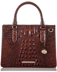 36e8578154 Brahmin - Melbourne Collection Small Camille Satchel - Lyst