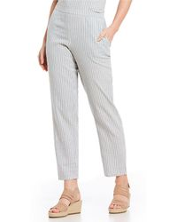 Eileen Fisher - Petite Size Tapered Ankle Pants - Lyst