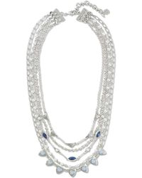 Lucky Brand - Layered Collar Necklace - Lyst
