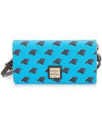 Dooney & Bourke - Nfl Carolina Panthers Daphne Cross-body Bag - Lyst