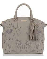 Brahmin - Briar Rose Collection Large Duxbury Satchel - Lyst