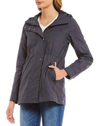 HUNTER - Original Cotton Smock Rain Jacket - Lyst