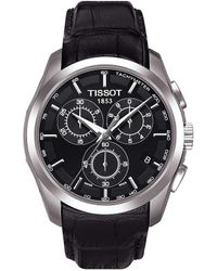 Tissot - T-classic Couturier Chronograph & Date Leather-strap Watch - Lyst