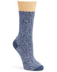 Frye - Textured Tipping Socks - Lyst