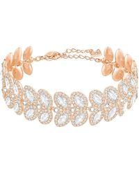 Swarovski - Baron Crystal Line Bracelet - Lyst