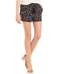 Jolt - Tassel-accented Floral-print Shorts - Lyst