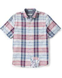 Tommy Bahama - Zuma Plaid Short-sleeve Woven Shirt - Lyst