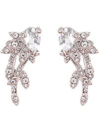 Jenny Packham - Crystal Crawler Earrings - Lyst