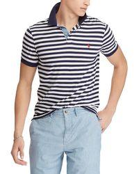 Polo Ralph Lauren - Stripe Jersey Short-sleeve Polo Shirt - Lyst