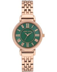 Anne Klein - Rose Gold Watch - Lyst
