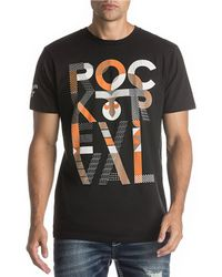 Rock Revival - Short-sleeve Logo Lampson Jersey T-shirt - Lyst