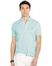 Polo Ralph Lauren - Short-sleeve Knit Oxford Shirt - Lyst