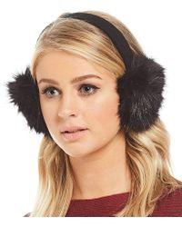 Parkhurst - Faux-fur Earwarmers - Lyst