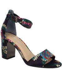 J. Reneé - Flaviana Floral Satin Dress Sandals - Lyst