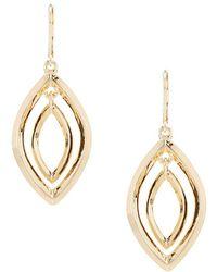 Anne Klein   Orbital Earrings   Lyst